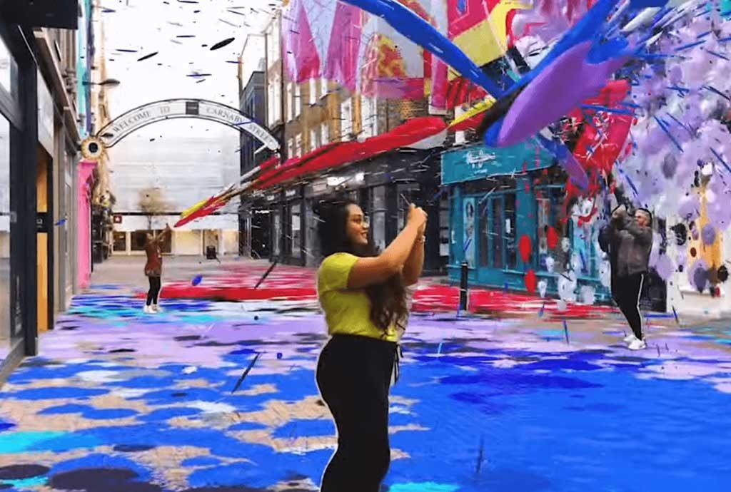Snapchat City Painter