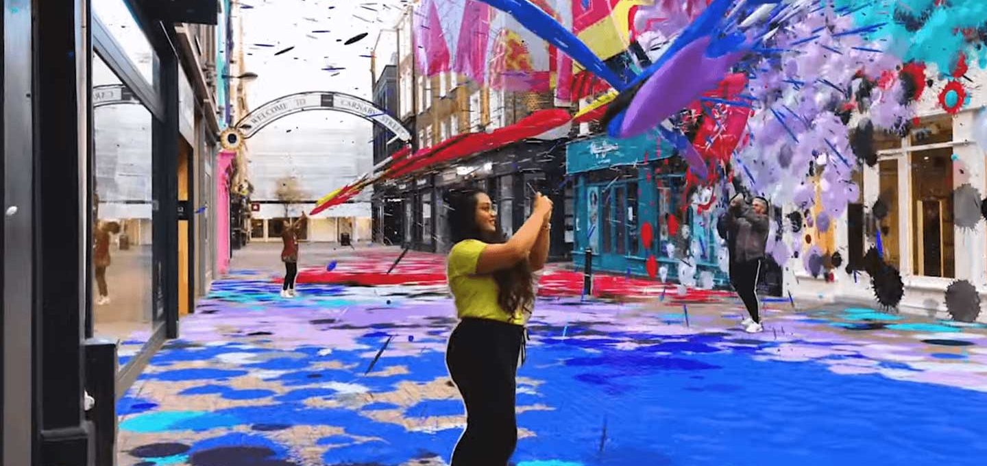 Snapchat City Painter