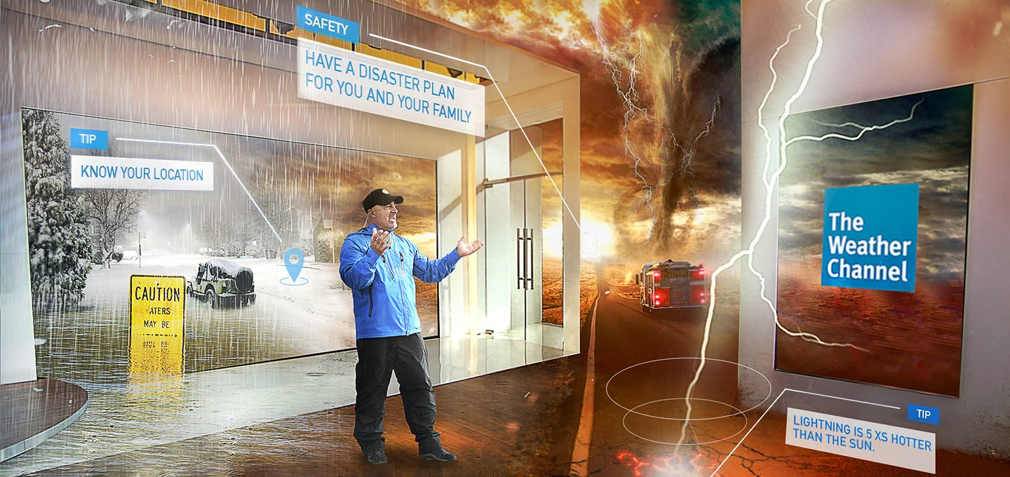 weather channel mixed reality